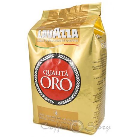 Кофе Lavazza Qualita Oro 1 кг зерновой (Польша)
