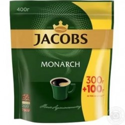 Кофе растворимый Jacobs Monarch 400 г