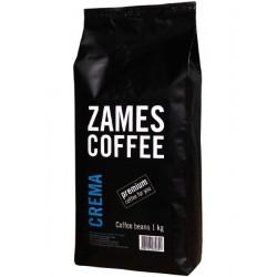 Кофе в зернах ZAMES Crema 1000 гр