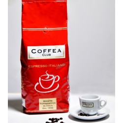 КОФЕ В ЗЕРНАХ Espresso Bar Coffea Club Rossa 1000 гр