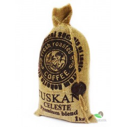 Кофе в зернах Tuskani Celeste «90% arabica» 1 кг